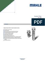 Filtro Hidráulico Pi160 Mahle