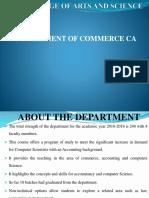 BCOM CADepartment Profile PPT (2)