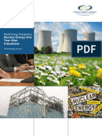 World Energy Perspective Nuclear Energy One Year After Fukushima World Energy Council March 2012 1