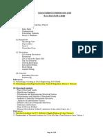 Outline for Civil (RSE Part II)