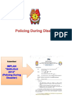 IMPLAN SAKLOLO on policing during  disaster pptx Autosaved.pptx
