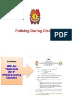 IMPLAN SAKLOLO on policing during  disaster pptx Autosaved.pptx