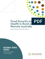 Food Security in Rural Australia