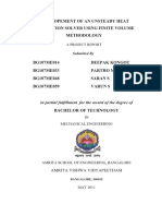 Development of an Unsteady Diffusion Solver using Finite Volume Methodology.pdf