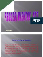 PROCEDIMIENTOS ATS 1