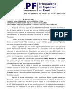 ms 1000132-10.2017.4.01.4000 - PARECER PELA CONCESSÃO