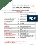Admission Notification 18-19