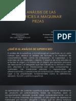 3.1 Analasisis de La Superficie a Maquinar