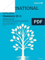 Edexcel IGCSE Chemistry 2019 Specification1