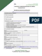 Anexo i - Modelo de Projeto