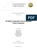 15 Watt Integrated Circuit Power Amplifier Documents.doc