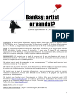Unità di apprendimento di Luca Pulejo su Banksy