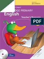 Cambridge Primary English Teacher's Resource Book 5 - Sample