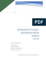 Estrategia tp 20c2018 ytnfra