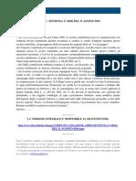 Fisco e Diritto - Corte Di Cassazione n 18942 2010