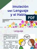 Estimulación Del Lenguaje y Habla