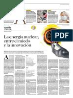 La Energía Nuclear, Entre El Miedo y La Innovación