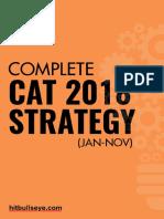 CAT study plan