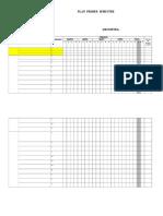 Formato Cronograma de Actividades Primer Semestre