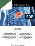 Cancer de Pancreas Nosologia (1)
