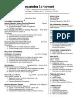 updated resume