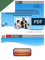 Directiva Visitadores Medicos Modificado