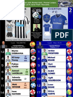 Premier League week 30 190309 Newcastle - Everton 3-2