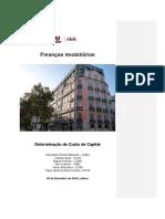 Trabalho de Grupo de Finanças Imobiliárias