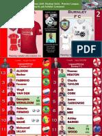 Premier League week 30 190310 Liverpool - Burnley 4-2