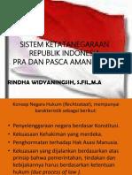 2. Sistem Ketatanegaraan Republik Indonesia