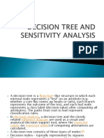 Decision Tree and Sensitivity Analysis