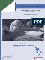Colección de materiales pedagógicos fasciculo1