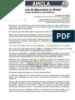 292 Anos Da Maçonaria No Brasil