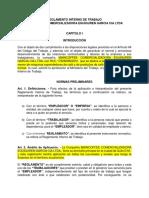 Reglamento Interno de Trabajo Revision 1