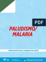 Paludismo. Guía Para El Equipo de Salud
