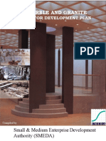 Marble and Granite Sector Development Plan
