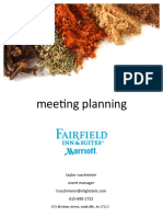 Meeting Planning Guide