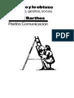 22 Barthes Roland - Lo Obvio Y Lo Obtuso (382pag).pdf