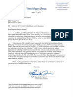 Senator Harris letter to USBR re CVP allocations