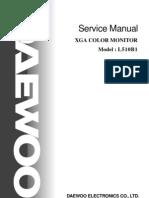 Monitor Lcd Deawoo Model-l510b1