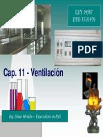 Ventilación mecanica