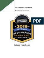 2019 judges packet