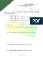 6.2 - Gráficos de Funções Afim - Ficha de Trabalho (1)