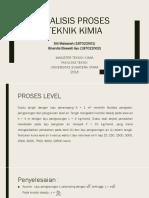 Proses Level (Analisis Proses Teknik Kimia)