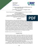 Tribological behavior of short-cut aramid fiber reinforced elastomers