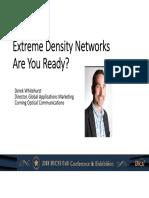 BICSI Extreme Density Networks
