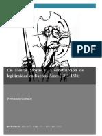 Gómez Fernandeo - Las Fiestas mayas y la construcción de legitimidad en Buenos Aires (1811-1836).pdf