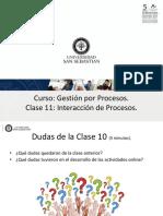 Clase11 gestion por procesos