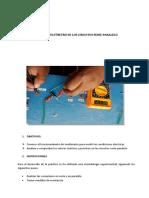 Uso Del Multímetro en Los Circuitos Serie-paralelo
