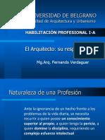 03 El Arquitecto